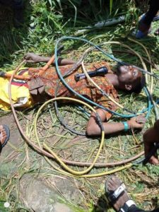 OMG!! Thief Electrocuted While Stealing Cables From A Transformer In Delta (Photos)