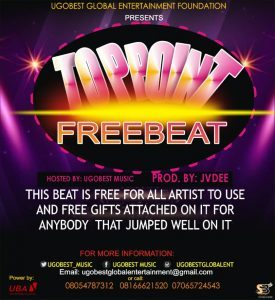 "Ugobest Drops ""Top Point"" Freebeat For Music Artistes To Use (Get In Here)"