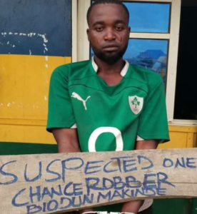 Lady Identifies Man Who Robbed, Raped Her And Took Away Her Pant In Ogun (Photo