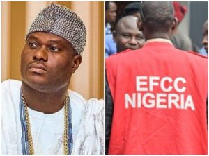 EFCC Visits Ooni Of Ife, See The Advise He Gave Them Regarding The Youths Arrested – Cool or Not?