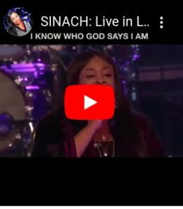 Sinach Live Performance at Lakewood Church – I Know who I am