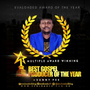 Sunny pee – Best Gospel producer of the year