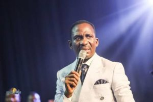 [LIVE VIDEO]  Dr Pst. Paul enenche healed a man with corona virus