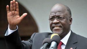 Pres magufuli.  I won't close church, corona virus can't survive in church