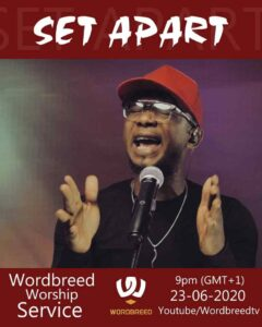 [VIDEO]  Set Apart – Chris shalom & Wordbreed
