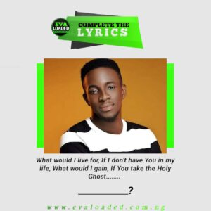 LET'S SING!!  Complete the lyrics – All that matters by Guc