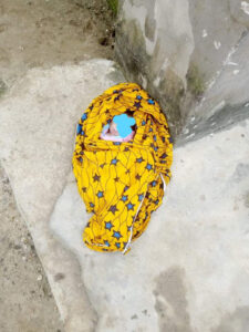Abandoned newborn baby found dead inside church in Rivers State (photo)