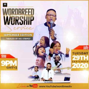 [Video] Healed By His Stripes – Chris Shalom & Wordbreed