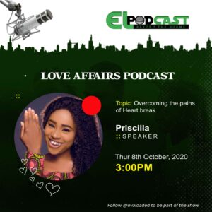 Overcoming The Pains of Heartbreak – Priscilla