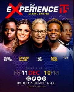 Sinach, Don Moen, Travis Greene & Others To Perform At The Experience 2020