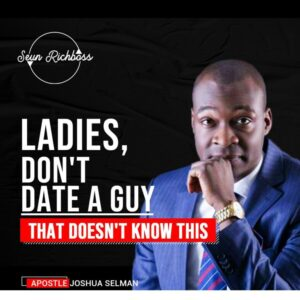 Purpose Guest: Apostle Joshua Selman – What To Know Before Going Into A Relationship