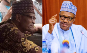 Nigerians react as President Buhari's look alike is spotted driving a bus in Lagos (photos)